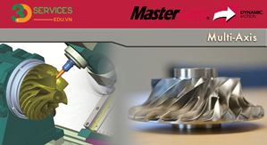 Khóa học chuyên đề Mastercam Multiaxis - lập trình 5 trục cho máy phay CNC
