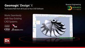 Khóa học thiết kế ngược trên phần mềm Rapidform/ Geomagic Design X căn bản