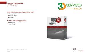 Khóa học Inspection với phần mềm GOM Inpect