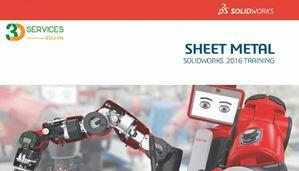 Khóa học chuyên đề Solidworks Sheet metal - thiết kế kim loại tấm