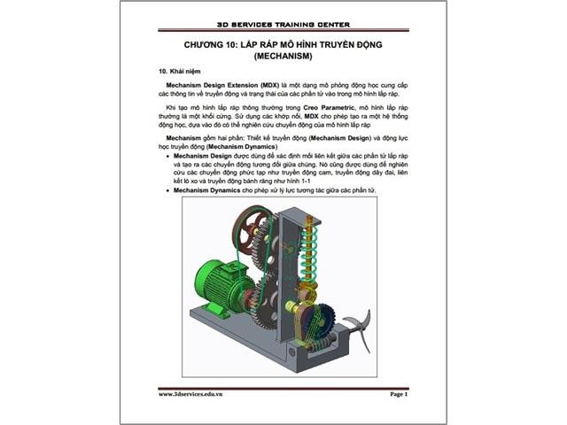 Sách hướng dẫn thiết kế nâng cao trên Creo Parametric 3 4 5