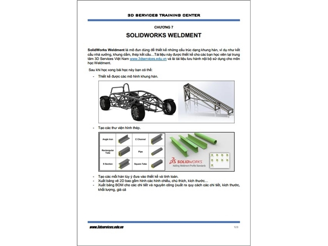 Sách hướng dẫn thiết kế Solidworks nâng cao