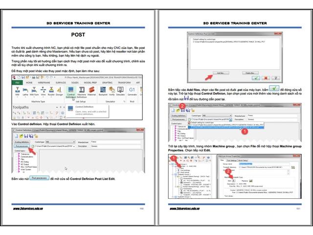 Sách hướng dẫn lập trình Phay Mastercam 2D