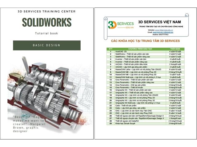 Sách hướng dẫn thiết kế Solidworks căn bản