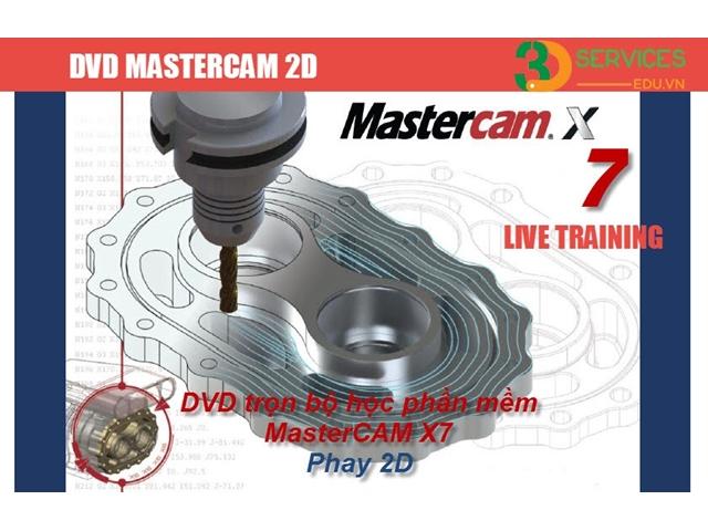 Bộ Video học lập trình Mastercam Phay 2D