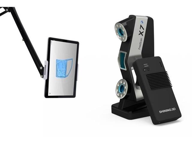 SHINING 3D ra mắt máy quét 3D FreeScan X5 + và X7 + cầm tay không dây mới