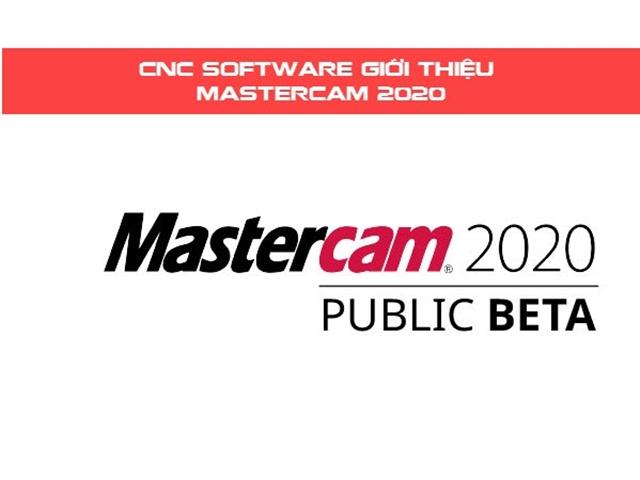 Mastercam 2020 Public Beta được ra mắt thử nghiệm